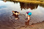 hunting for leeches--click for larger view