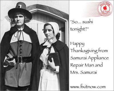 samurai thanksgiving